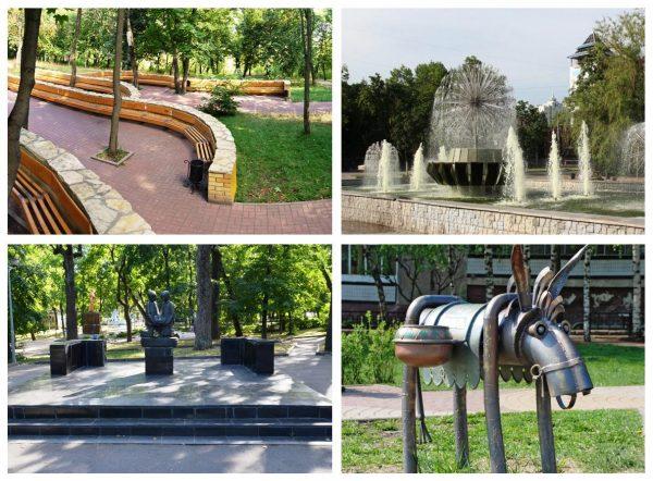 Верхний парк Липецка
