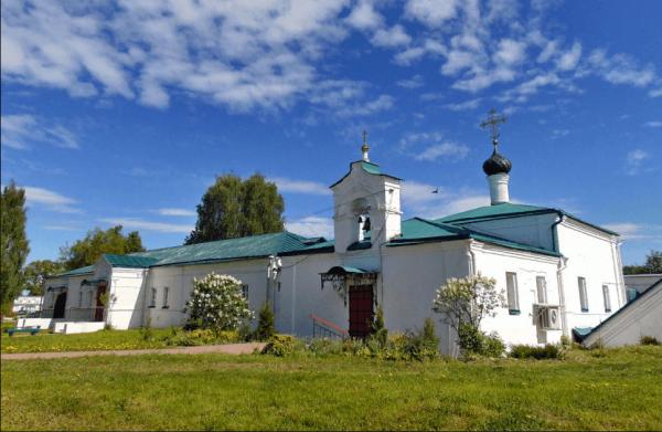 Сретенская церковь с больничными кельями