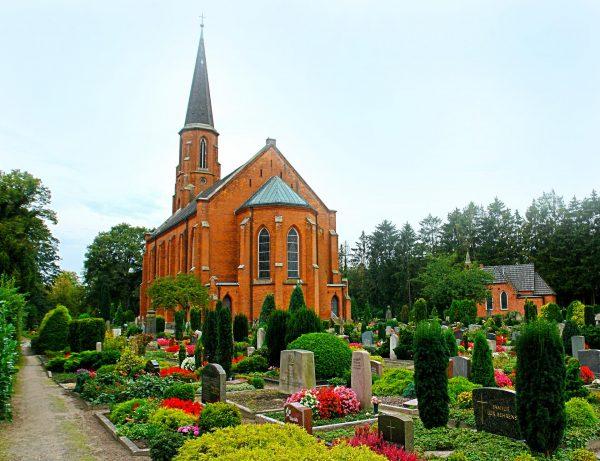 Здание церкви святого Иоанна в Бремене
