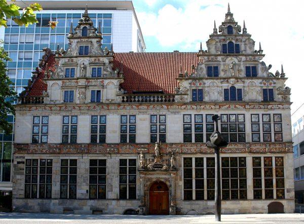 Здание торговой палаты в Бремене
