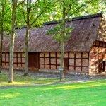 Здание фермерского сарая в музее Фоке