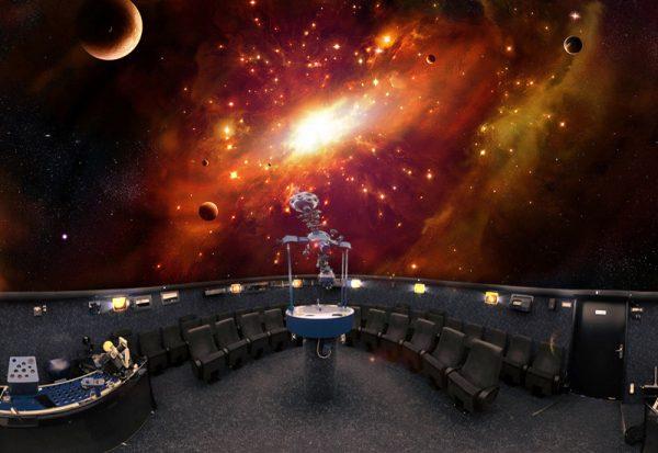 Зал планетария в Бремене