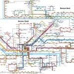 Карта общественного транспорта Бремена