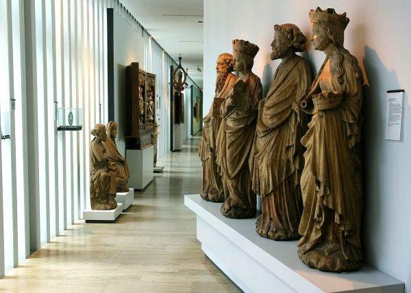 Экспонаты в музее Фоке