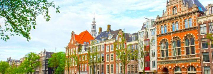 Амстердам - город, построенный на каналах
