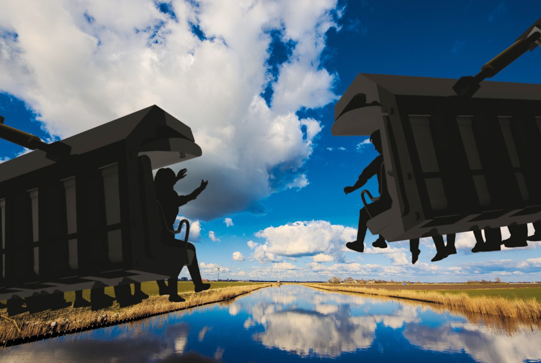 Обои лето, Облака, Дирксланд, нидерланды. Пейзажи foto 16