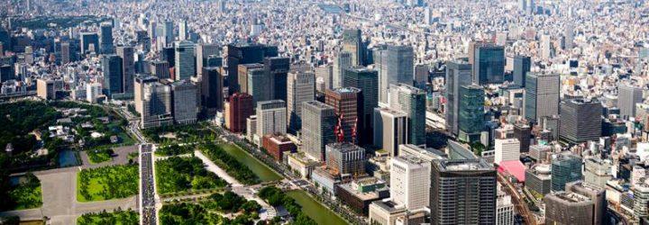 Город небоскребов Токио