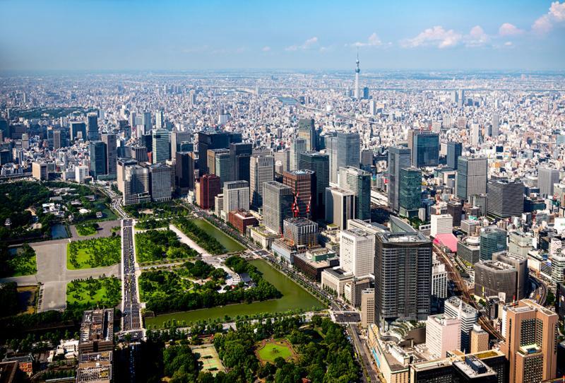 Токио — город небоскрёбов и высоких технологий
