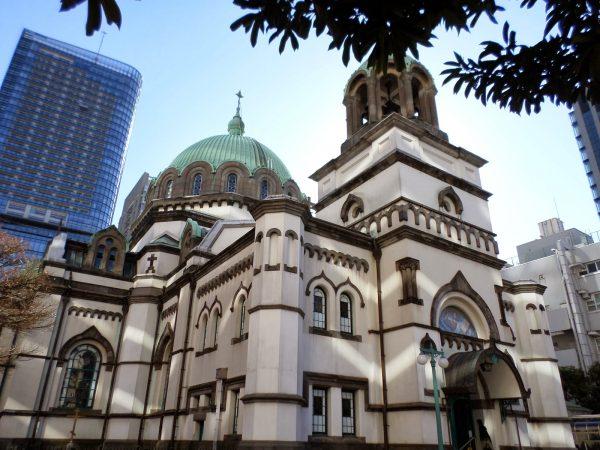 Здание собора Святого Воскресения Христова в Токио