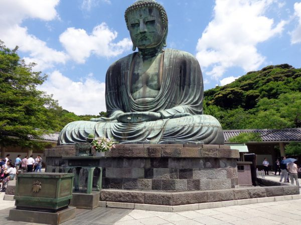 Скульптура Великого Будды в храме Котоку-Ин