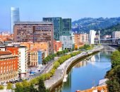 Бильбао - город на реке Нервион