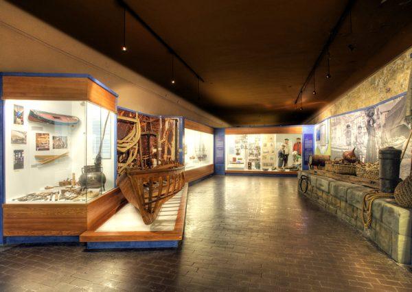 Экспонаты в музее басков