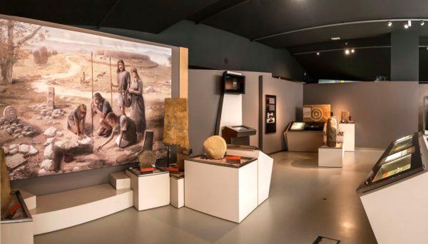 Экспонаты в археологическом музее Бильбао
