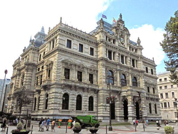 Здание дворца Совета Бискайи