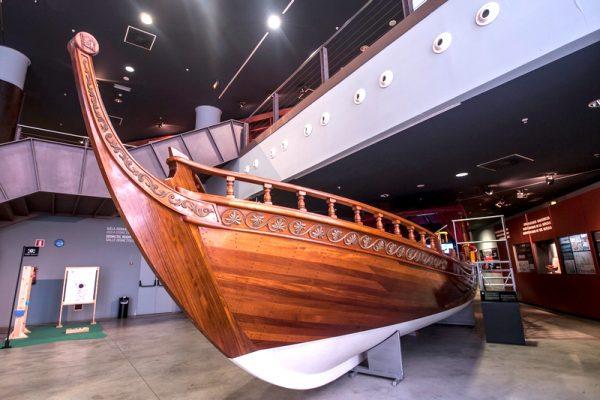 Макет судна в морском музее
