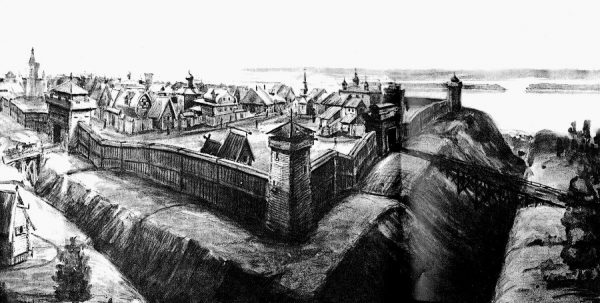 Кремль древнего Симбирска