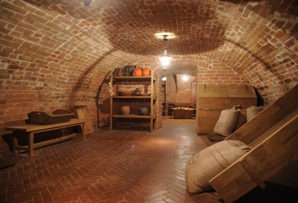 Подвал в доме Гончаровых