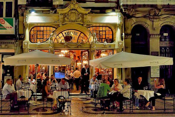 Кафе «Мажестик» в Порту