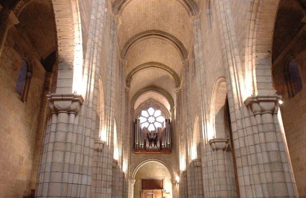 Кафедральный собор Порту внутри