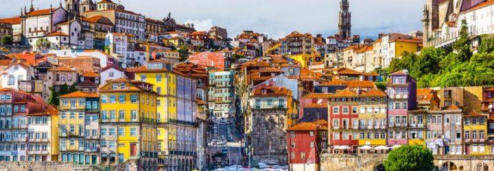 Вид на центр Порту