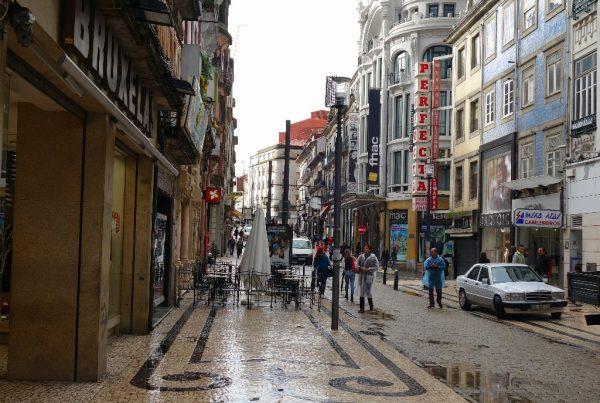 Улица Санта-Катарина в Порту