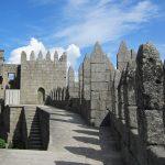 Стены замка Гимарайнш изнутри