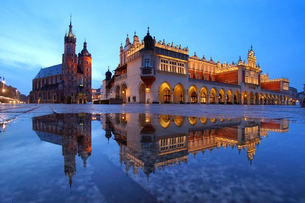 Сукеннице на Рыночной площади Кракова