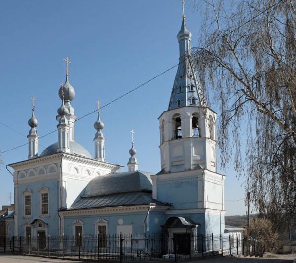 Храм Знамения Пресвятой Богородицы в Калуге