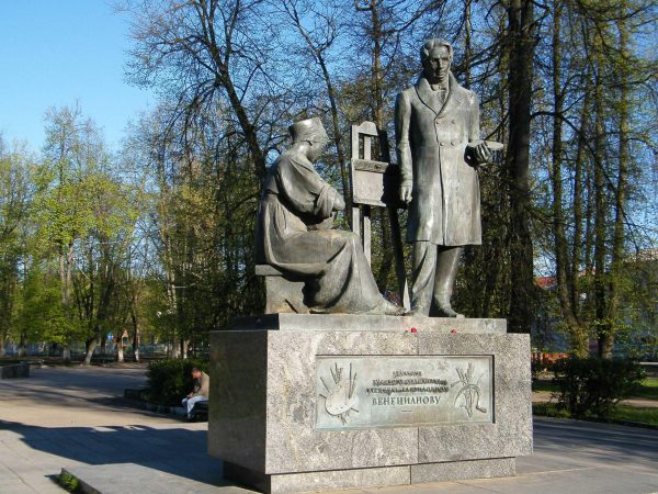 Памятник Алексею Гавриловичу Венецианову в Вышнем Волочке