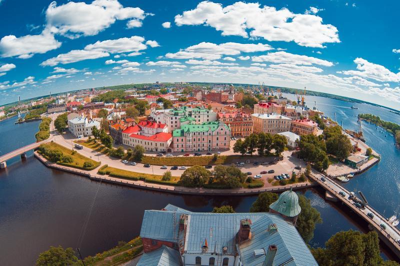 Выборг — уголок Средневековья в России