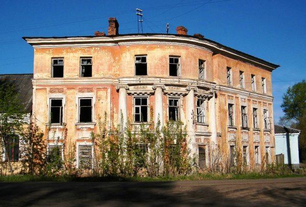 Бывшая усадьба Неручьевой в Вышнем Волочке