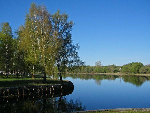 Река Мста в Вышнем Волочке