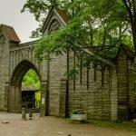 Готические ворота в парке Монрепо