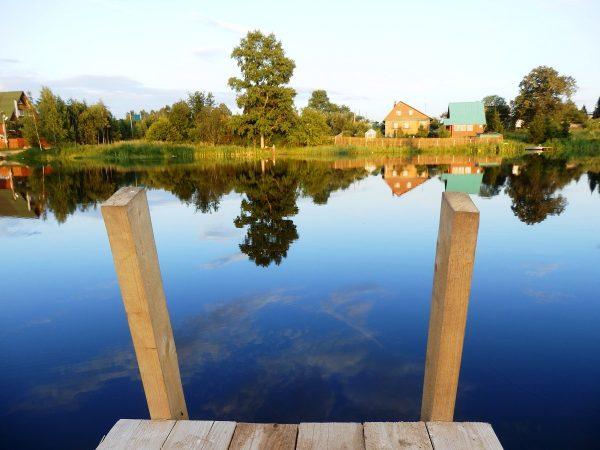 Озеро Стекло возле Волоколамска