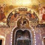 Роспись стен в музее Польди-Пеццоли