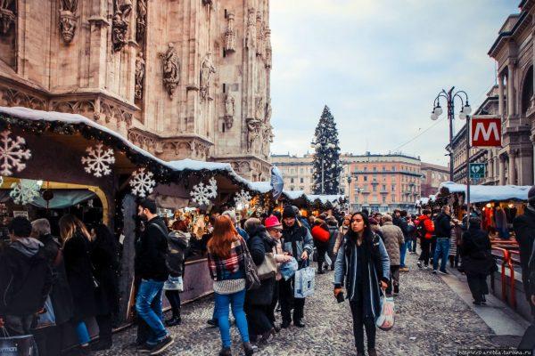 Ярмарка в Милане