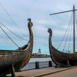 Драккары викингов в Выборге