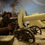 Экспозиция в Военном музее Карельского перешейка
