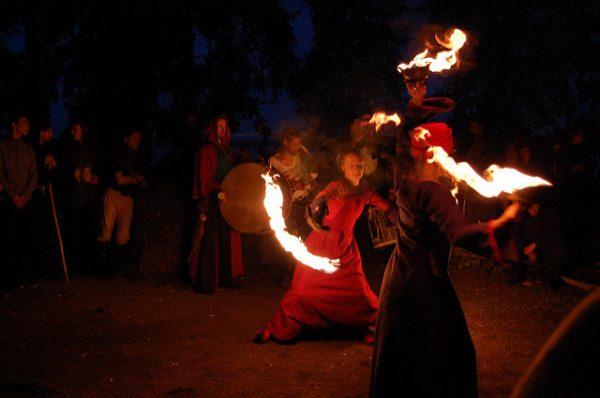Кельтский праздник Midsummer