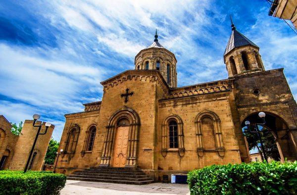 Церковь Святого Всеспасителя в Дербенте