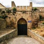 Горные ворота в Нарын-кала