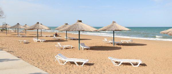 Дербентский пляж