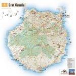 Туристическая карта Гран-Канарии
