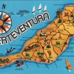 Туристическая карта Фуэртевентуры