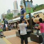 Аллея героев комиксов в Парке Коулун, Гонконг