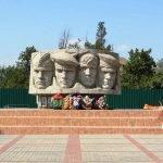 Монумент памяти десантников