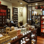 Экспонаты Музея чайной посуды в Гонконге