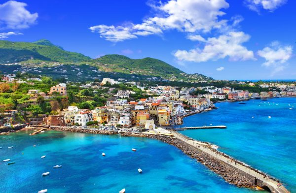 Вид на побережье Неаполя