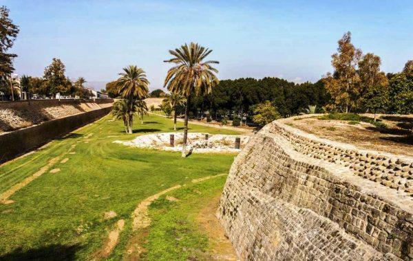 Часть венецианской стены в Никосии