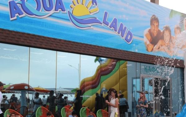 Аквапарк «AquaLand» в Дербенте